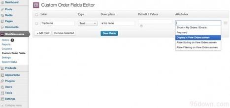 Woocommerce Admin Custom Order Fields | Download Free WordPress Theme, WordPress Plugin and Full Scripts. | test | Scoop.it