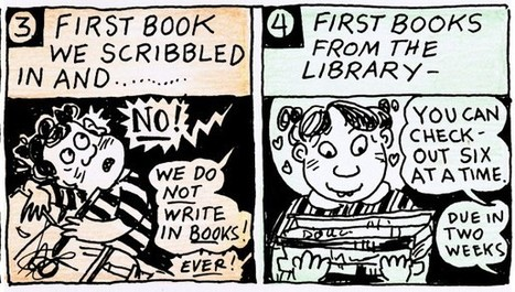 Lynda Barry: The 20 stages of reading | Adult Language and Literacy | Scoop.it