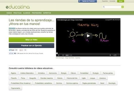 """Educatina: vídeos educativos en castellano.   Curso #ccfuned: """"La Clase invertida - Flipped Classroom""""   Scoop.it"""