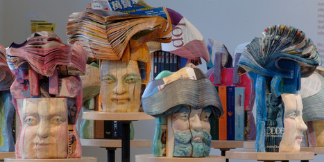 These Gorgeous Book Sculptures Are Leaving Us Speechless | Creatively Aging | Scoop.it