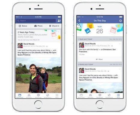 Facebook se pone nostálgico con su nueva función 'En este día' | Noticias informatica by josem2112 | Scoop.it