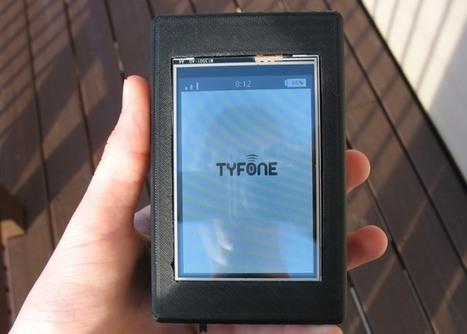 Tyfone 3D Printed Raspberry Pi DIY Smartphone Created For $180 - Geeky Gadgets | Arduino, Netduino, Rasperry Pi! | Scoop.it
