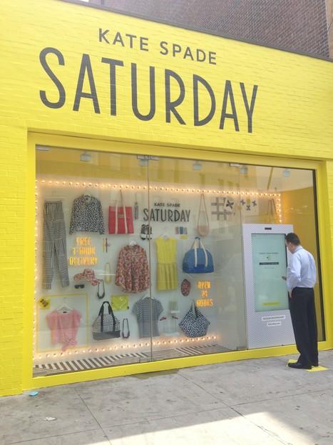 Retail: Le magasin à écran tactile Saturday by Kate Spade ... | FASHION | Scoop.it