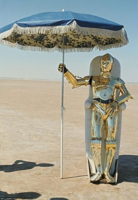Des photos prises pendant le tournage du deuxième Star Wars révèlent les coulisses du film   Phototrend.fr   Photographies numériques   Scoop.it