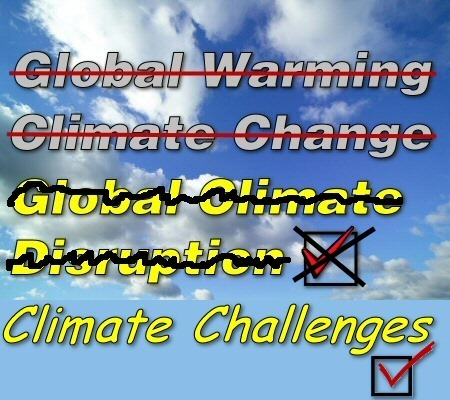 "The Survival Station -   Spin, span, spun: now it's ""climate challenges"" 