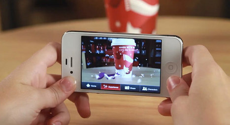 Starbucks lance de la réalité augmentée spéciale Noël sur ses gobelets | La réalité augmentée | Scoop.it