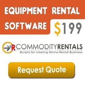 Heavy Equipment Rental System with complete solution | CommodityRentals | Scoop.it