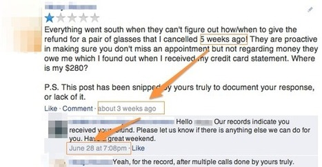 8 Tips on What to Do With Negative Social Media Consumer Review | MarketingHits | Scoop.it