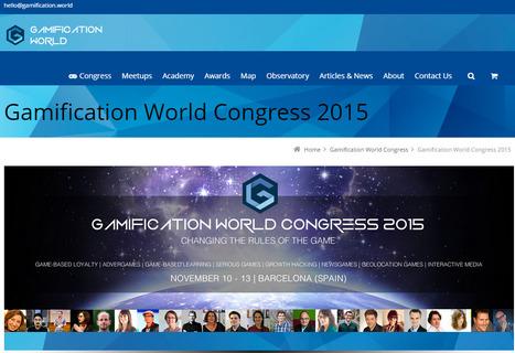 El congreso mundial de gamificación repite en Barcelona con 60 ponentes y 1.200 profesionales | Gamification | Scoop.it