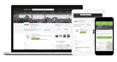Groupon Goes After Yelp And Google With Millions Of Individual Business Pages | TechCrunch | Recherche locale | Scoop.it