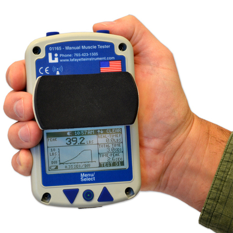 Lafayette Instrument 01165 Manual Muscle Testing (MMT) Device [LA-01165] : ProHealthcareProducts.com | Manual Muscle Testing | Scoop.it
