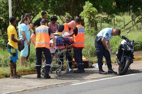 Le motard blessé aux Trois-Ilets sorti d'affaire - FranceAntilles.fr Martinique | Accident deux roues motorisés | Scoop.it
