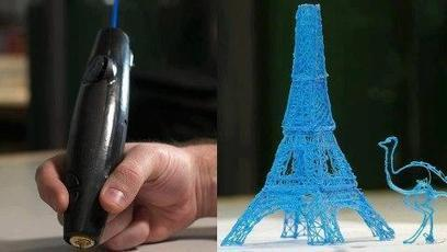 Twitter / TheWeirdWorld: 3Doodler World's first 3D ...   3D Printing   Scoop.it