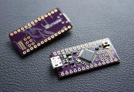 Open Source Neutrino 32-bit Miniature Arduino Zero (video) - Geeky Gadgets | Arduino, Netduino, Rasperry Pi! | Scoop.it