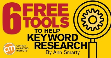 6 Free Tools to Help Keyword Research | #FreeYourMarketing | Scoop.it