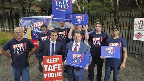 Fears about the future of Campbelltown TAFE raised as State Election nears - The Daily Telegraph | TAFE Vocational Education and Training | Scoop.it