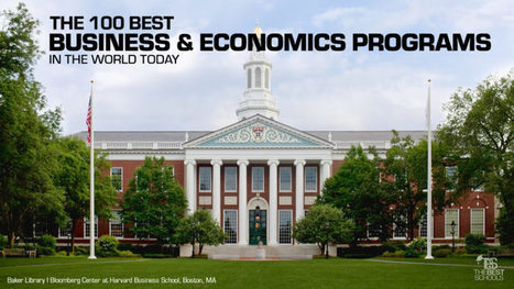 The 100 Best Business & Economics Programs in the World Today | The Best Schools | innovation | Scoop.it