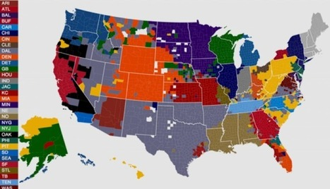 Data Visualization of the NFL and its Fan Base | lIASIng | Scoop.it