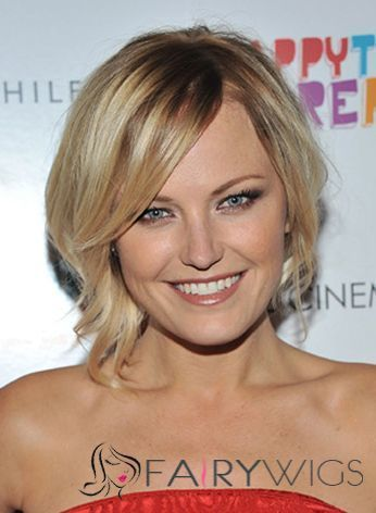 Best Short Brown Capless Celebrity Hairstyle : fairywigs.com | Synthetic Hair Wigs | Scoop.it