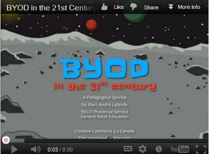 BYOD in the 21st Century - A Look at the Issues with a Great Video | News for North Country Cybrarians | Scoop.it