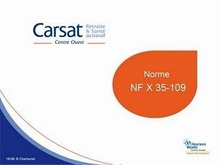 Une nouvelle norme concernant les manutentions | norme NF X35-109 | Scoop.it