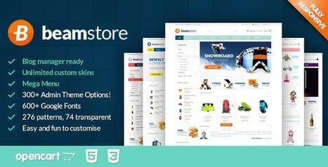 BeamStore Responsive Multipurpose Opencart Theme - ServerThemes.Net | Best Premium OpenCart Themes | Scoop.it