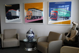 A Passion for Collecting, Displaying Art | Transport Topics Online | Trucking ... - Transport Topics Online | Aspiring Art Collector | Scoop.it