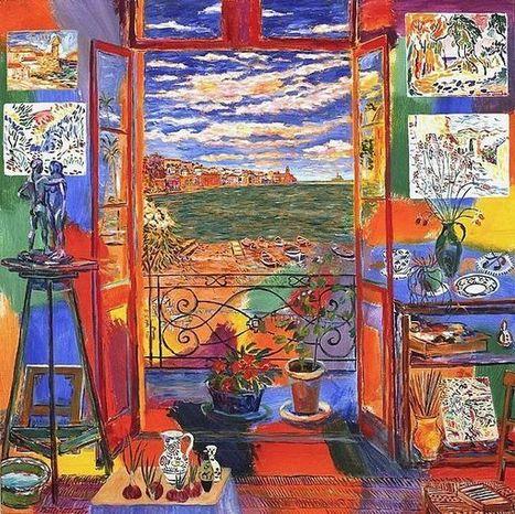 Conjuguons les couleurs du français avec la promotion Matisse. | ressources pédago FLE | Scoop.it