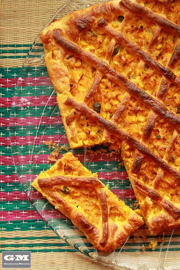 GustosaMente: Crostata di carote, mais e tonno | Ricette di cucina interessanti | Scoop.it