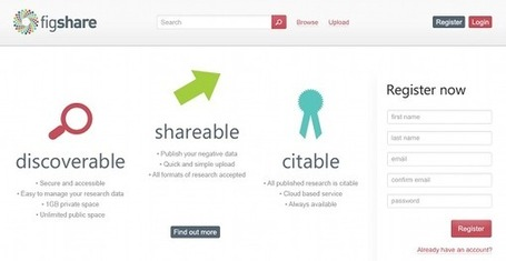 Figshare: a carrot for sharing - Helping researchers share their research more quickly. | Prionomy | Scoop.it