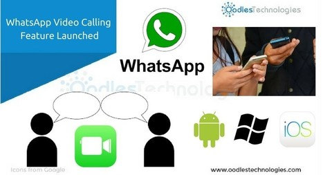 WhatsApp launched Video Calling Feature across All Mobile Platforms | Mobile-and-web-application | Scoop.it