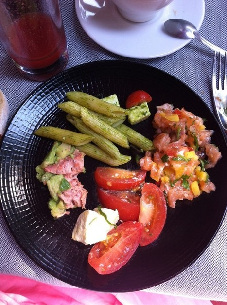 Pour un brunch parisien au top en terrasse, direction Aux Saveurs ... | Brunch Paris | Scoop.it