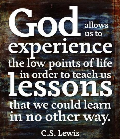 Twitter / CSLewisDaily: God allows us to experience ... | From the Fathers Heart | Scoop.it