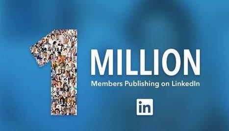 Linkedin Breaking News: raggiunto il milione di blogger su Pulse | Social Media Marketing | Scoop.it