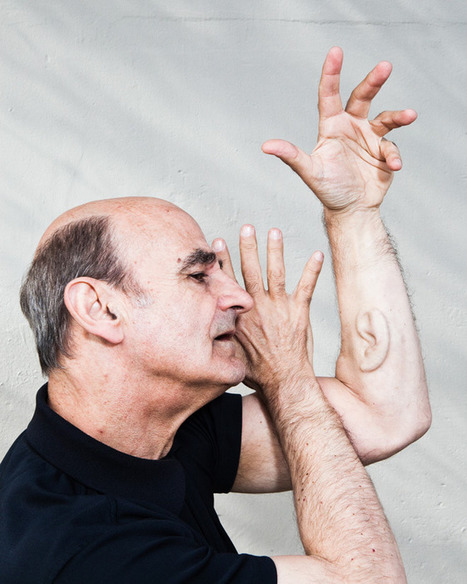 For Extreme Artist Stelarc, Body Mods Hint at Humans' Possible Future | shubush augment | Scoop.it
