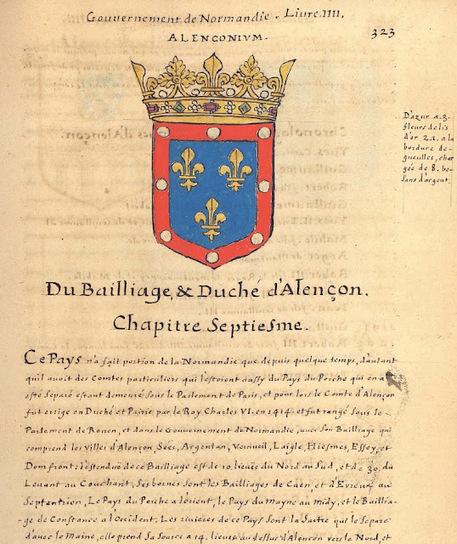 Herald Dick Magazine: Un trésor oublié : l'Armorial de La Planche - 1669 - Normandie - Bailliage d' Alençon | GenealoNet | Scoop.it
