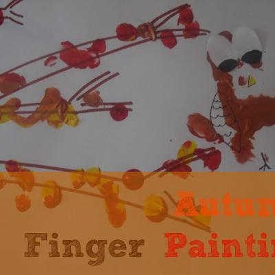 Autumn Tree Finger Painting {Thanksgiving Kids Craft} | Thanksgiving Crafts for Kids | Scoop.it