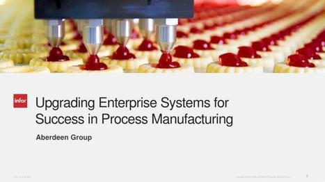 Impact of ERP Upgrades and Compliance on Process Manufacturing | Technology | Scoop.it