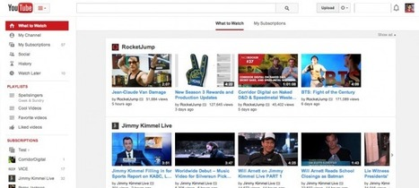 YouTube Begins Rolling Out A New, Cleaner User Interface | DMCS - Don Mouky's Chop Shop | Scoop.it