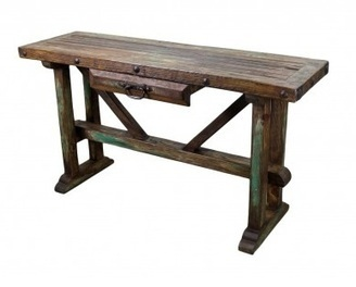Recycled Old Pine Sofa Table | Furniture | Scoop.it