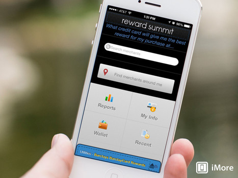 Reward Summit for iOS helps you choose what credit card to use to maximize points and rewards | payment | Scoop.it