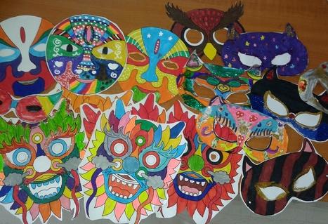 Αποκριάτικες Μάσκες! | Γεννάδειος Σχολή-Δ' Τάξη    2013-2014 | Scoop.it