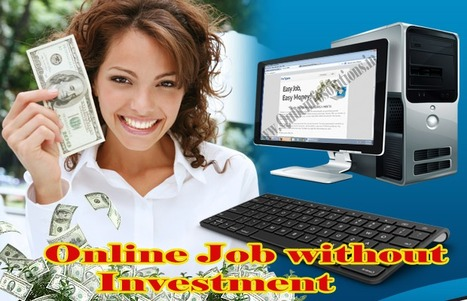 Discover an Online Job Without Investment   Qube Info Solution Pvt. Ltd.   Scoop.it
