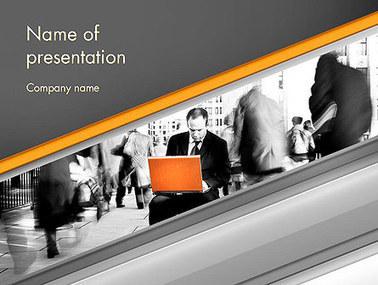 Sense of Urgency Presentation Template | Presentation Templates | Scoop.it