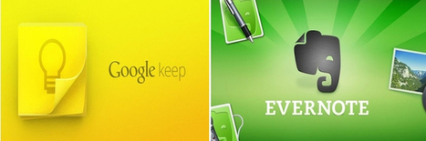 ¿Google Keep?… ¡No sin mi Evernote! | El Content Curator Semanal | Scoop.it