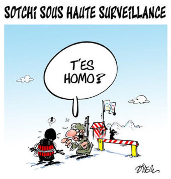 Sotchi sous haute surveillance | Baie d'humour | Scoop.it