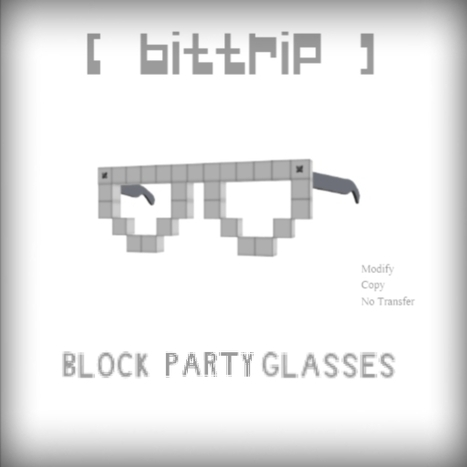 Block Party Glasses by BitTrip | Teleport Hub | Second Life Freebies | Scoop.it