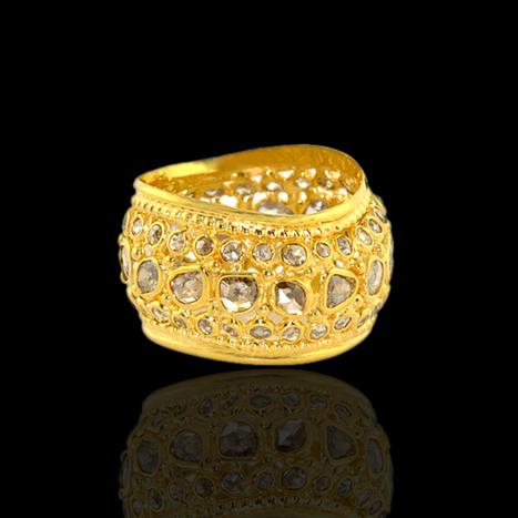 Diamond Engagement Ring | Wholesale Jewelry | GemcoDesigns | Pave Diamond Bangle | Diamond Jewelry | GemcoDesigns | Scoop.it