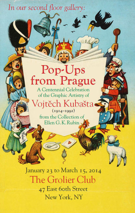 Pop-ups from Prague A Centennial Celebration of the Graphic Artistry of Vojtech Kubašta (1914-1992) From the Collection of Ellen G. K. Rubin | New & Vintage Collectibles | Scoop.it