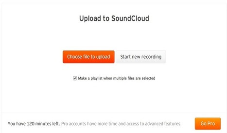 Teachers' Guide to The Use of SoundCloud in Class ~ Educational Technology and Mobile Learning | Meet Them Where They Are: Using The Student's Technology To Teach | Scoop.it